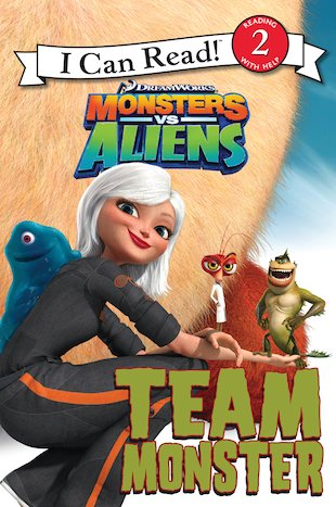 I Can Read: Monsters Vs Aliens Storybook