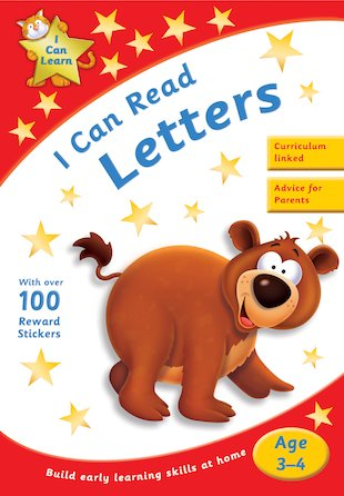 I Can Learn: I Can Read Letters