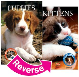 Kittens and Puppies Flip Book