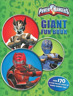 Power Rangers: Giant Fun Book