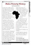 Make Poverty History - Bob Geldof (1 page)