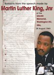 I have a dream - Martin Luther King poster (1 page)