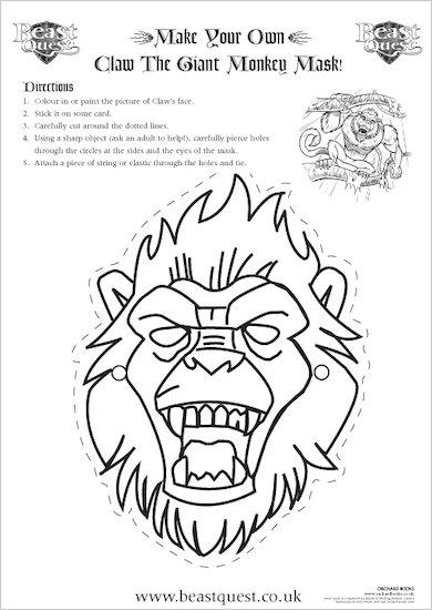 Beast Quest Mask