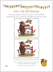 Gruffalo Birthday Spot the Difference