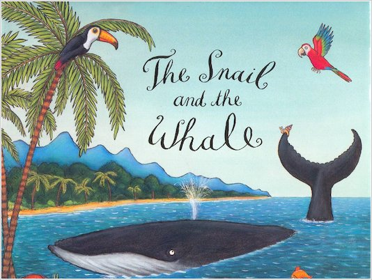 Snail and the Whale wallpaper