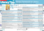 Primary Framework - Literacy Time PLUS Ages 5 to 7, Issue 42  (2 pages)