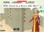 Tour of a medieval castle - interactive resource