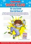 Horrid Henry Character Profile