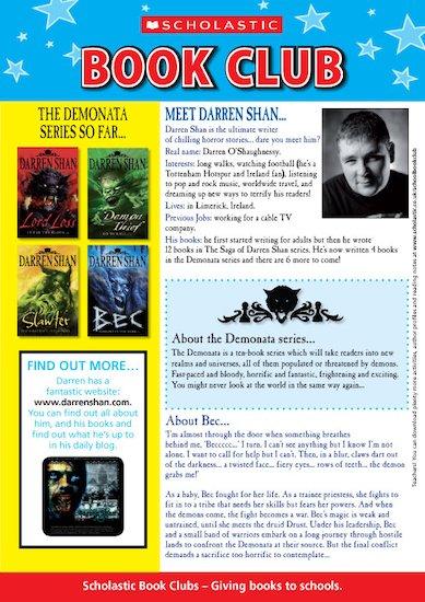 Darren Shan Author Profile