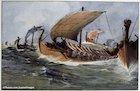 Viking longoboat
