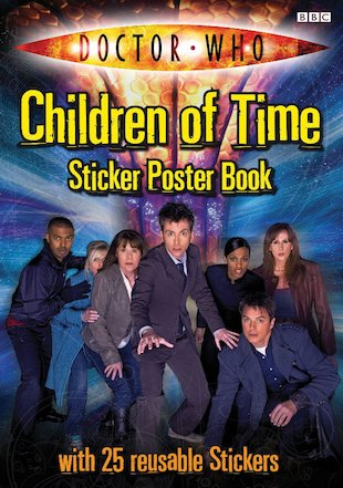 Doctor Who: Children of Time Sticker Poster Book