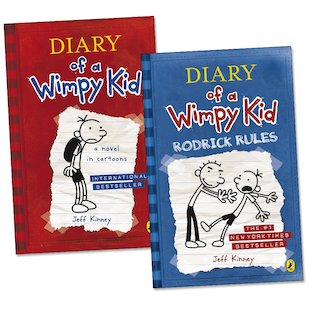Diary of a Wimpy Kid Pair