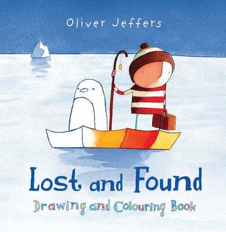 Lost and Found: Drawing and Colouring Book