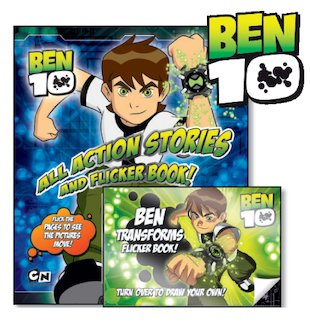 Ben 10: All Action Stories and Flicker Book