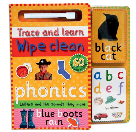 Trace and Learn: Wipe-Clean Phonics