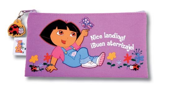 Dora purple pencil case