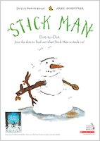 Stick Man Dot to Dot