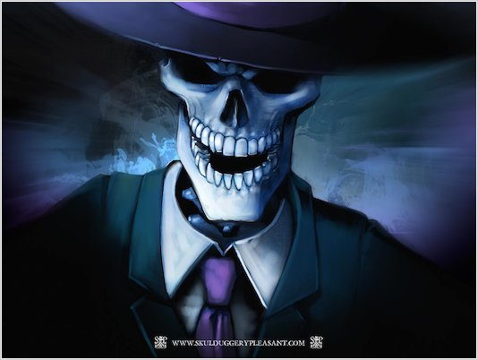Skulduggery Pleasant Wallpaper