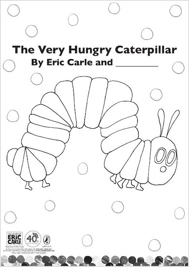 Colour the Very Hungry Caterpillar!