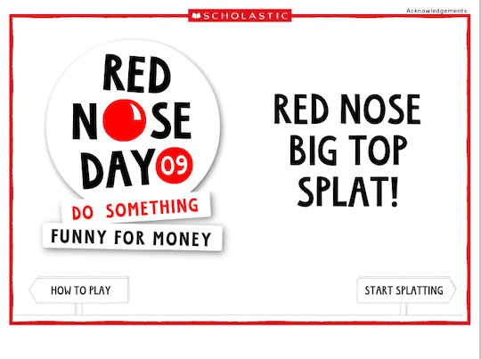 Red Nose Day: Red Nose Big Top Splat!