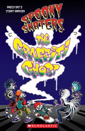 Spooky Skaters: The Graffiti Ghost (Book only)