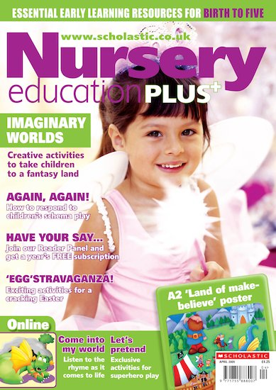 Nursery Education PLUS April 2009