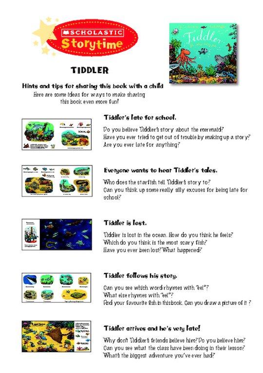 Storytime Notes: Tiddler