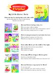 Storytime Notes: My Little Sister, Doris (1 page)