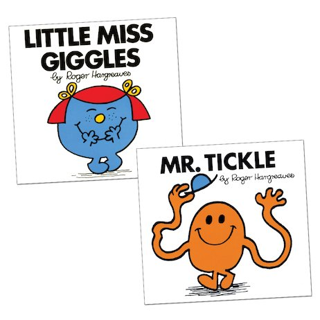 Mr Tickle and Little Miss Giggles Pair
