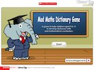 Mad Maths dictionary game