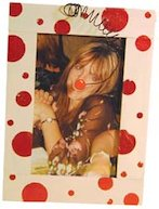 Red nose funny photo frame
