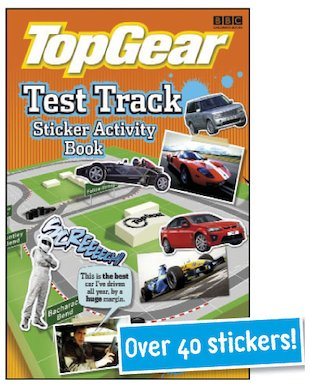 Top Gear: Test Track Sticker Activity Book