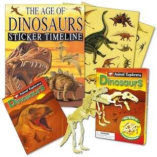 Dinosaur Sticker Timeline Pack