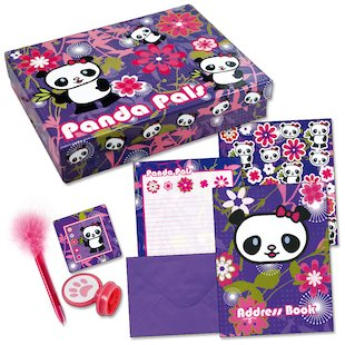Panda Pals Stationery Box