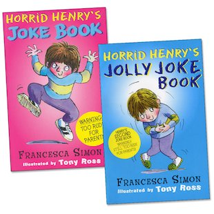 Horrid Henry Joke Book Pair