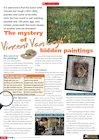 Vincent Van Gogh's hidden paintings – fact sheet