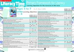 Primary Framework - Literacy Time PLUS Ages 5 to 7, Issue 41  (2 pages)