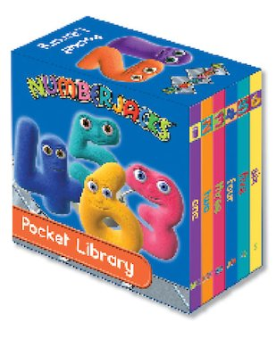Numberjacks Pocket Library