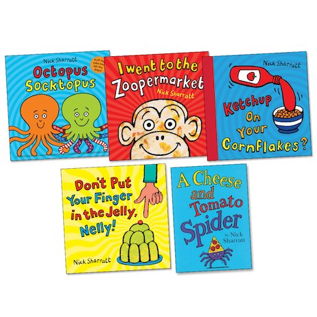 Nick Sharratt Pack x 5