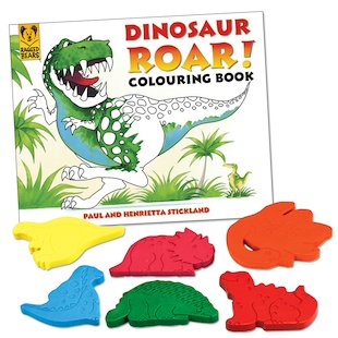 Dinosaur Roar! Colouring Book