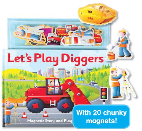 Let's Play Diggers: Magnet Book