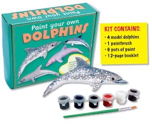 Paint Your Own Dolphins