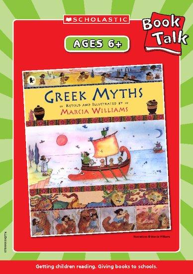Greek Myths Reading Notes