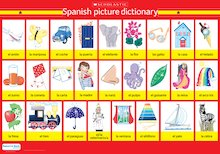 Poster: Spanish picture dictionary