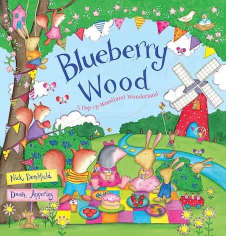 Blueberry Wood: A Pop-up Woodland Wonderland