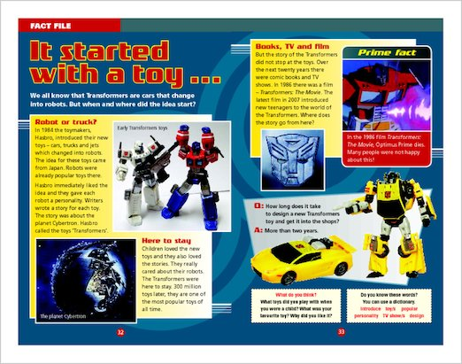 Transformers: Fact File