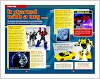Transformers: Fact File (3 pages)