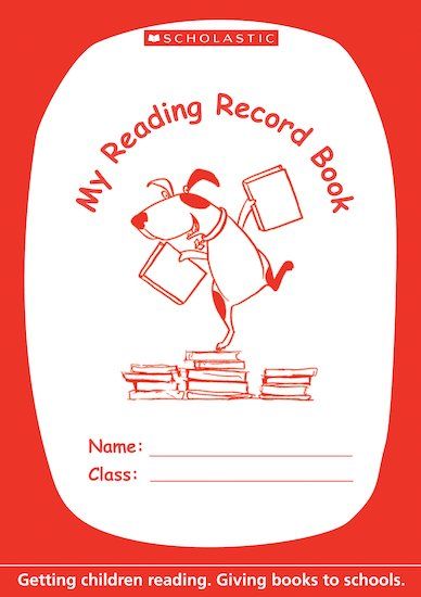 Reading Record Book Pack x 40