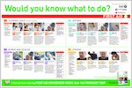 First Aid poster (1 page)