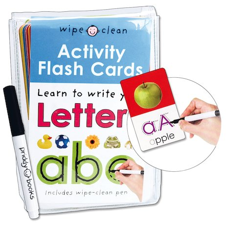 Activity Flash Cards: Learn to Write Your Letters